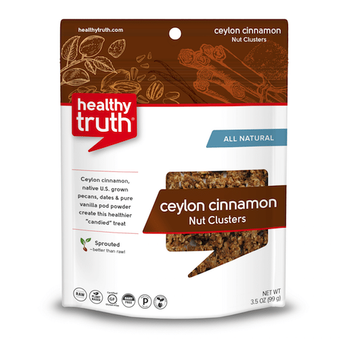 Natural Ceylon Cinnamon Nut Clusters - Heathly Truth - Certified Paleo, Paleo Vegan - Paleo Foundation - paleo diet - paleo lifestyle - paleoaf