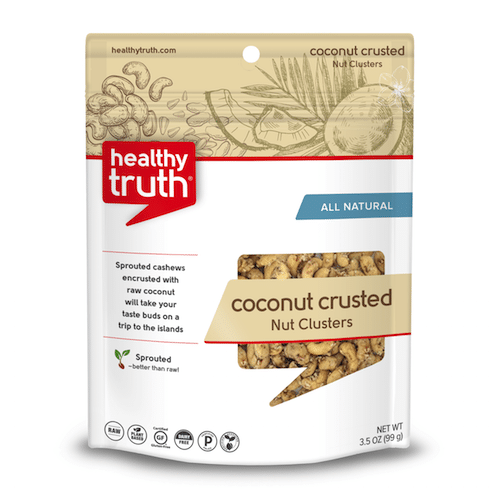 Natural Coconut Crusted Nut Clusters - Heathly Truth - Certified Paleo, Paleo Vegan - Paleo Foundation - paleo diet - paleo lifestyle - paleoaf