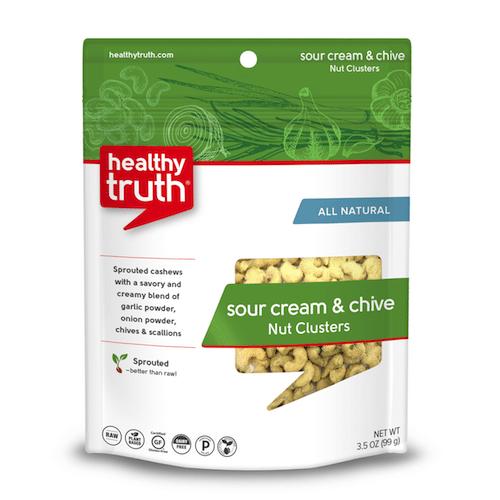 Natural Sour Cream & Chive Nut Clusters - Heathly Truth - Certified Paleo, Paleo Vegan - Paleo Foundation - paleo diet - paleo lifestyle - paleoaf