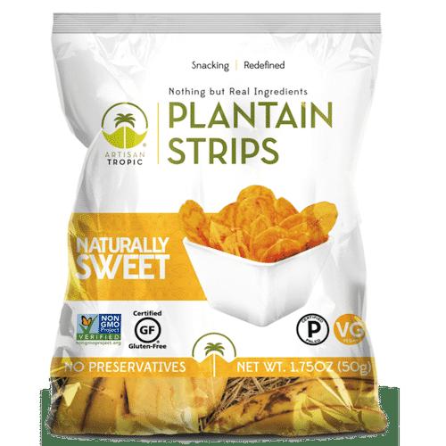 Naturally Sweet Plantain Chips 1.75oz - Artisan Tropic - Certified Paleo, Paleo Vegan - Paleo Foundation