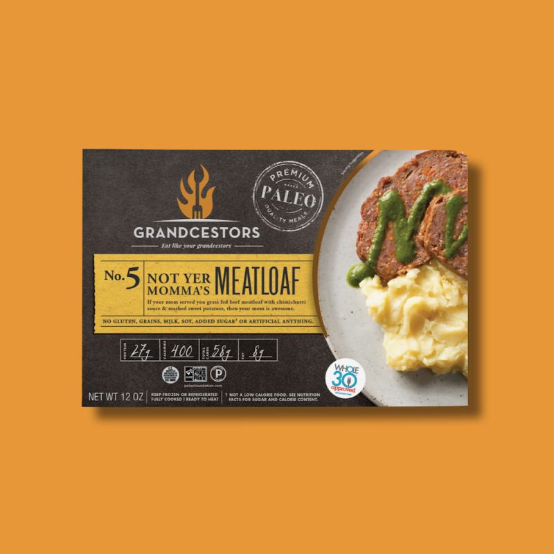 Not Yer Mama's Meatloaf 01 - Grandcestors - Certified Paleo, Certified Grain Free Gluten Free by the Paleo Foundation