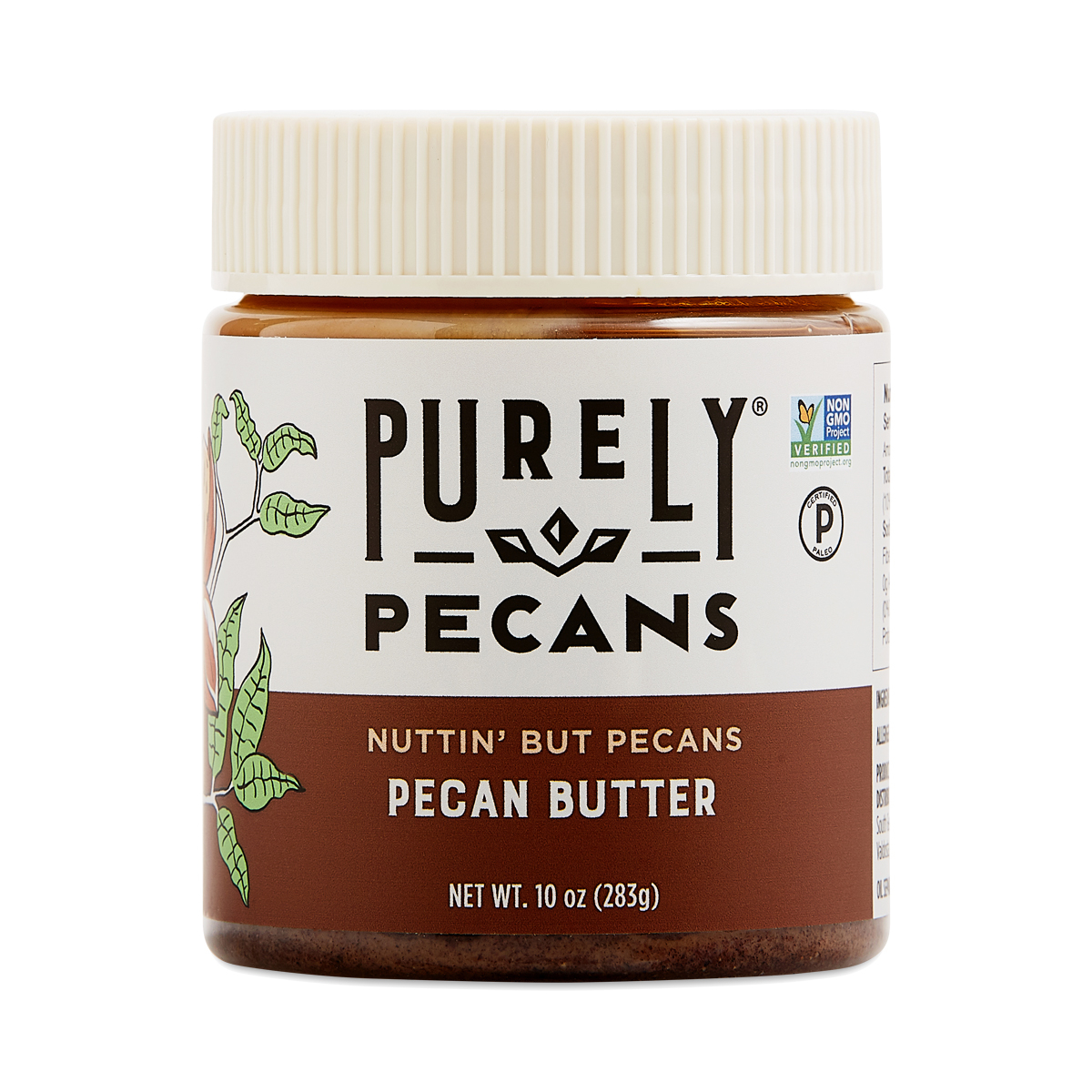 Nuttin' but Pecans Pecan Butter - Purely Pecans - Certified Paleo, PaleoVegan by the Paleo Foundation