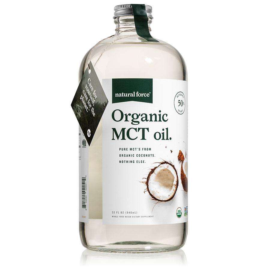 Organic MCT Oil - Natural Force - Certified Paleo, Keto Certified by the Paleo Foundation