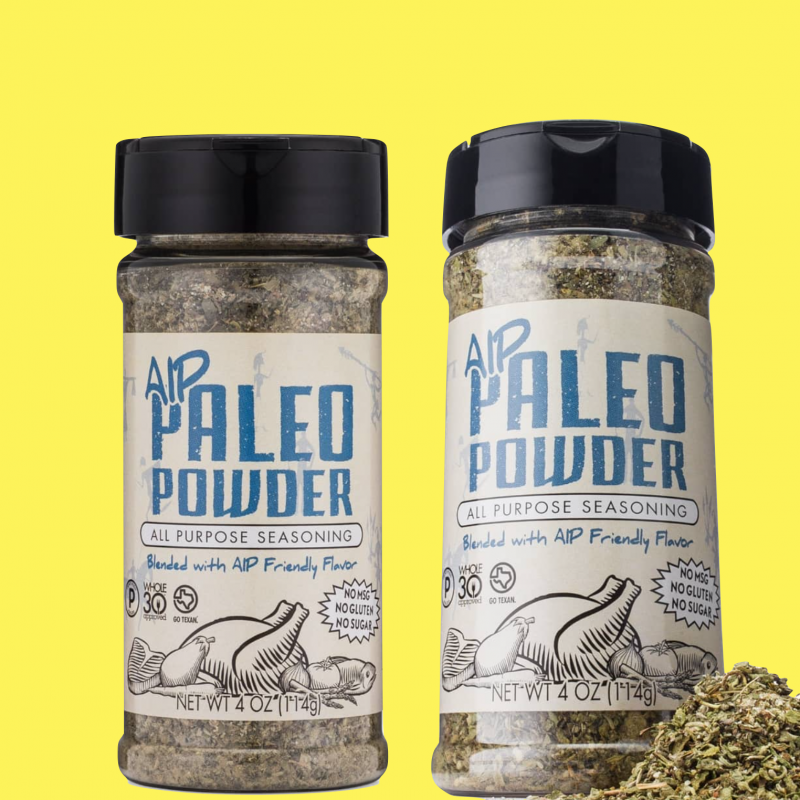 Organic Paleo Powder AIP All Purpose Seasoning - Paleo Powder Seasonings - Certified Paleo by the Paleo Foundation