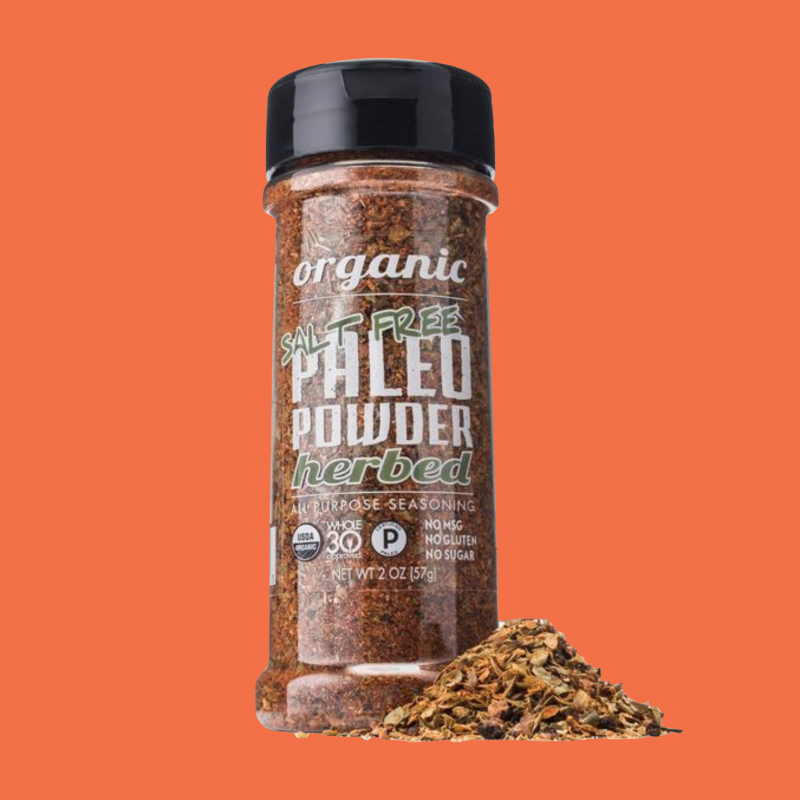 Organic Paleo Powder Herbed Salt Free All Purpose Seasoning - Paleo Powder Seasonings - Certified Paleo - Paleo Foundation