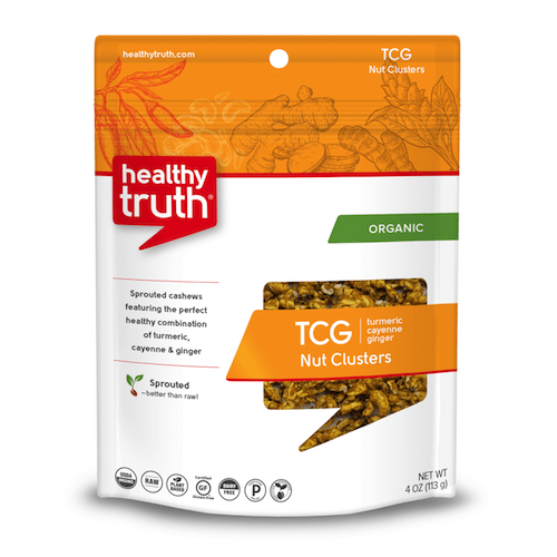 Organic TCG Nut Clusters (Turmeric, Cayenne and Ginger) - Heathly Truth - Certified Paleo, Paleo Vegan - Paleo Foundation - paleo diet - paleo lifestyle - paleoaf
