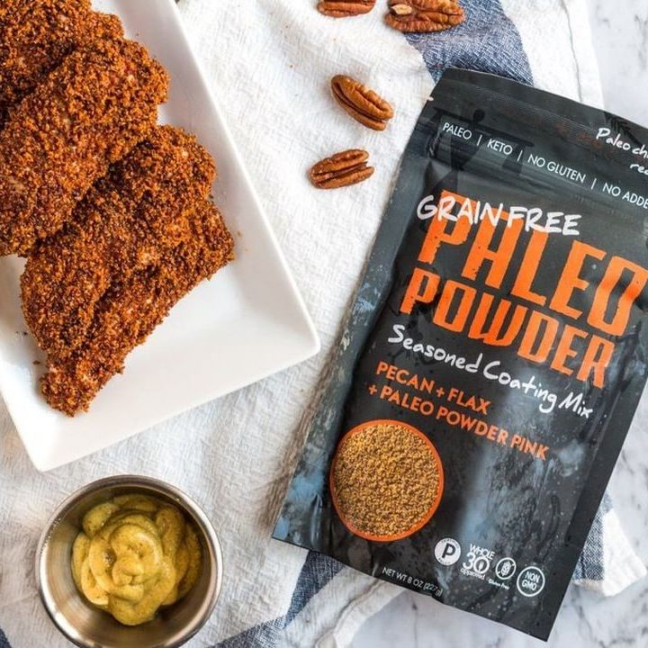 Paleo Powder Pecan Coating Mix - Paleo Powder Seasonings - Certified Paleo by the Paleo Foundation