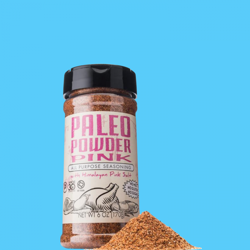 Paleo Powder Pink All Purpose Seasoning - Paleo Powder Seasonings - Certified Paleo - Paleo Foundation