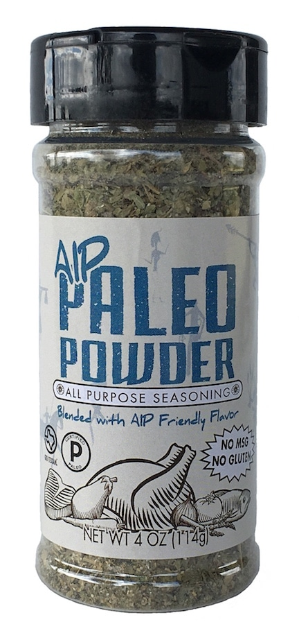 AIP Seasoning - At Paleo Powder Seasonings, we exist to provide the everyday home cook flavorful, one-stop, healthy seasoning blends. All of our products are Certified Paleo, Whole30 Approved and GO TEXAN. #paleo #certifiedpaleo #aipfriendly