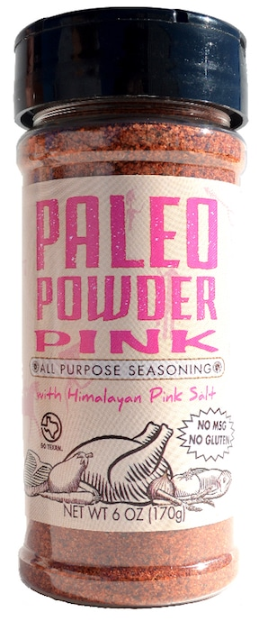 Pink Paleo Powder Seasonings - At Paleo Powder Seasonings, we exist to provide the everyday home cook flavorful, one-stop, healthy seasoning blends. All of our products are Certified Paleo, Whole30 Approved and GO TEXAN. #paleo #certifiedpaleo #aipfriendly