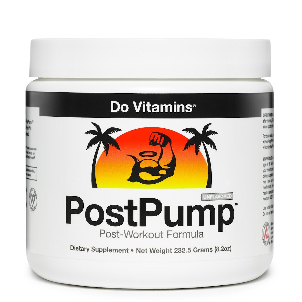 PostPump - Certified Paleo Friendly, KETO Certified, Paleo Vegan by the Paleo Foundation