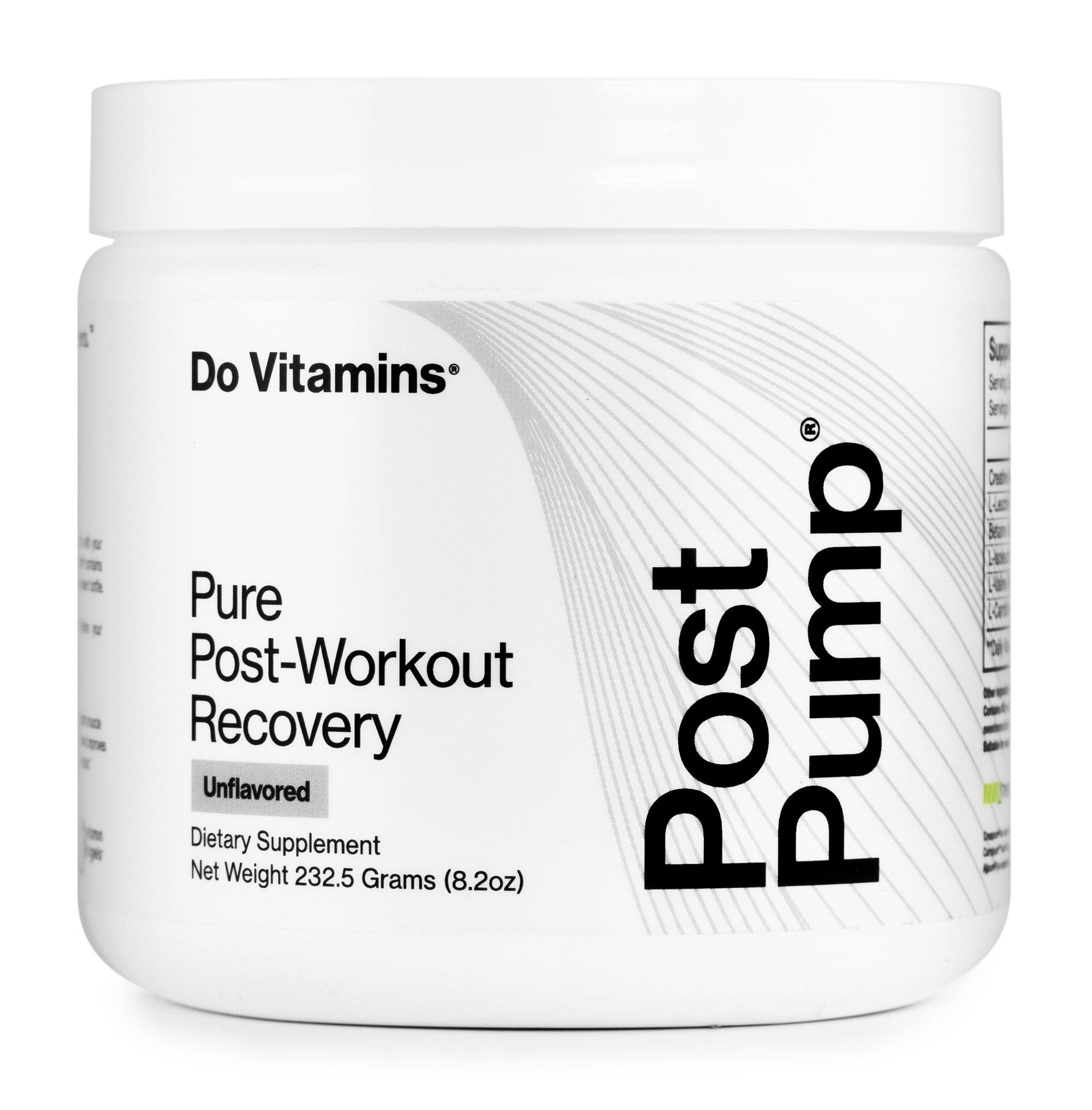 PostPump - Do Vitamins - Certified Paleo, Keto Certified, Paleo Friendly, PaleoVegan by the Paleo Foundation