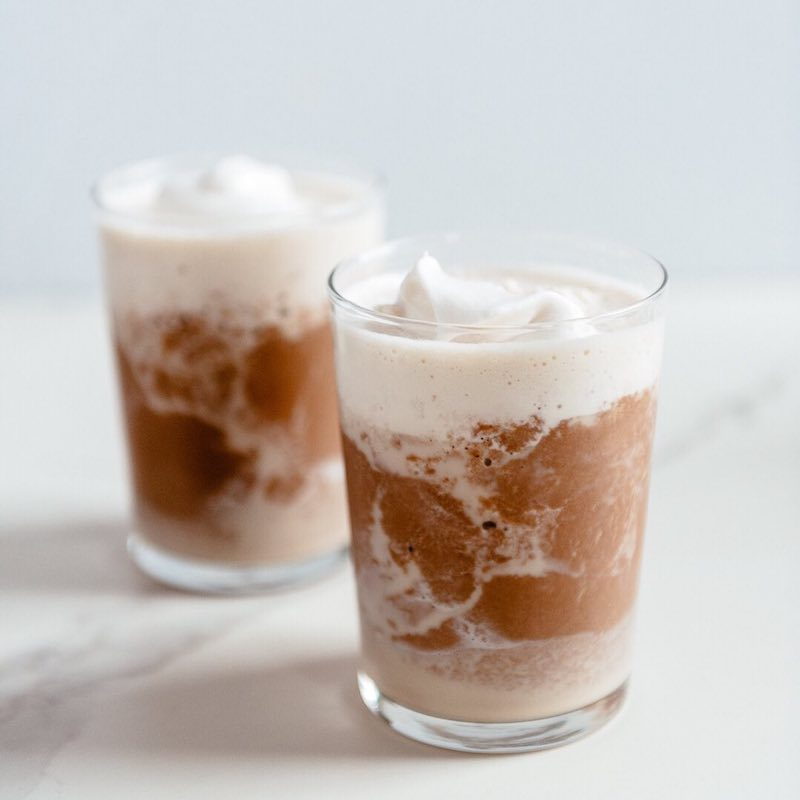 Powdered Almond Butter Keto Frappe