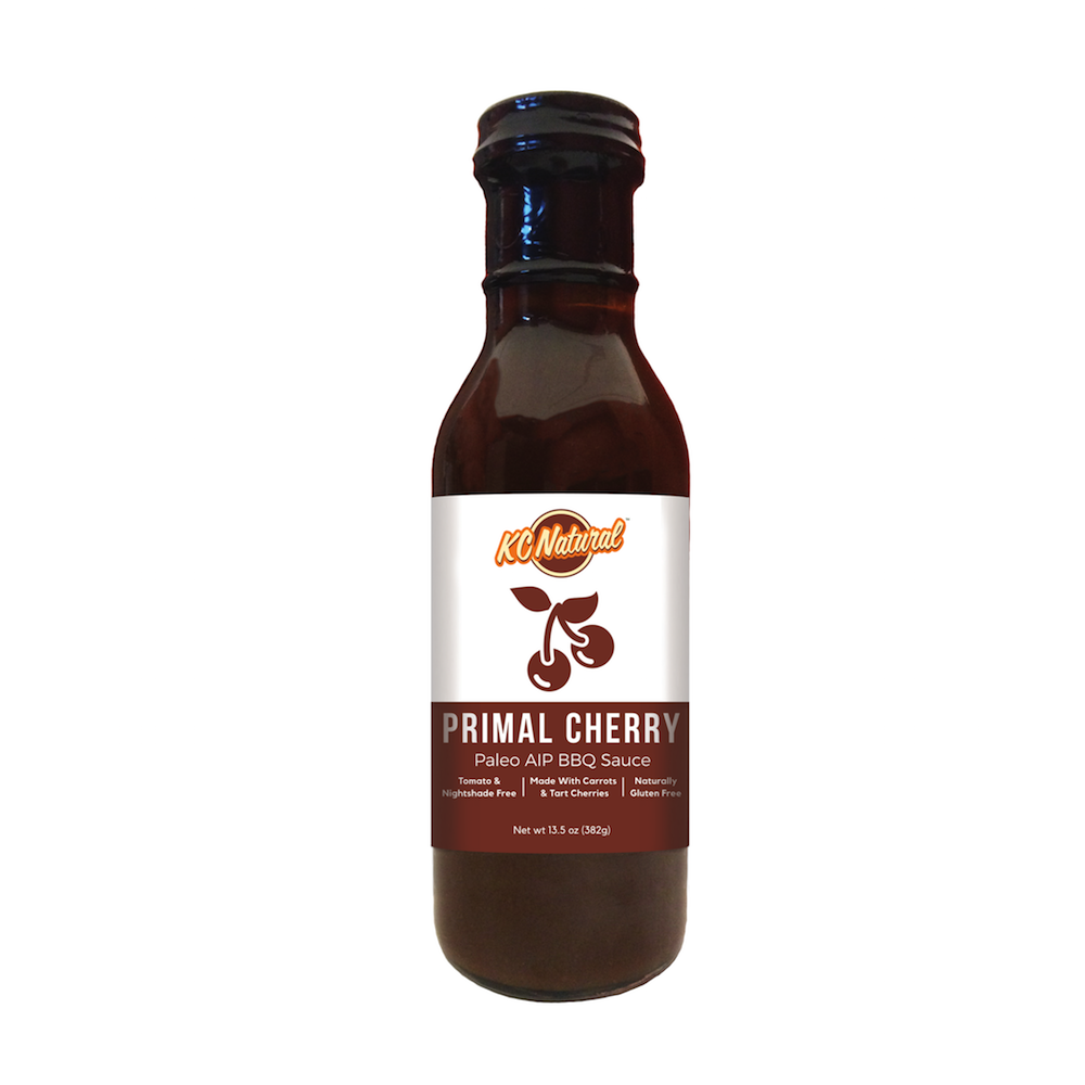 Primal Cherry BBQ Sauce - KC Naturals - Paleo Friendly by the Paleo Foundation