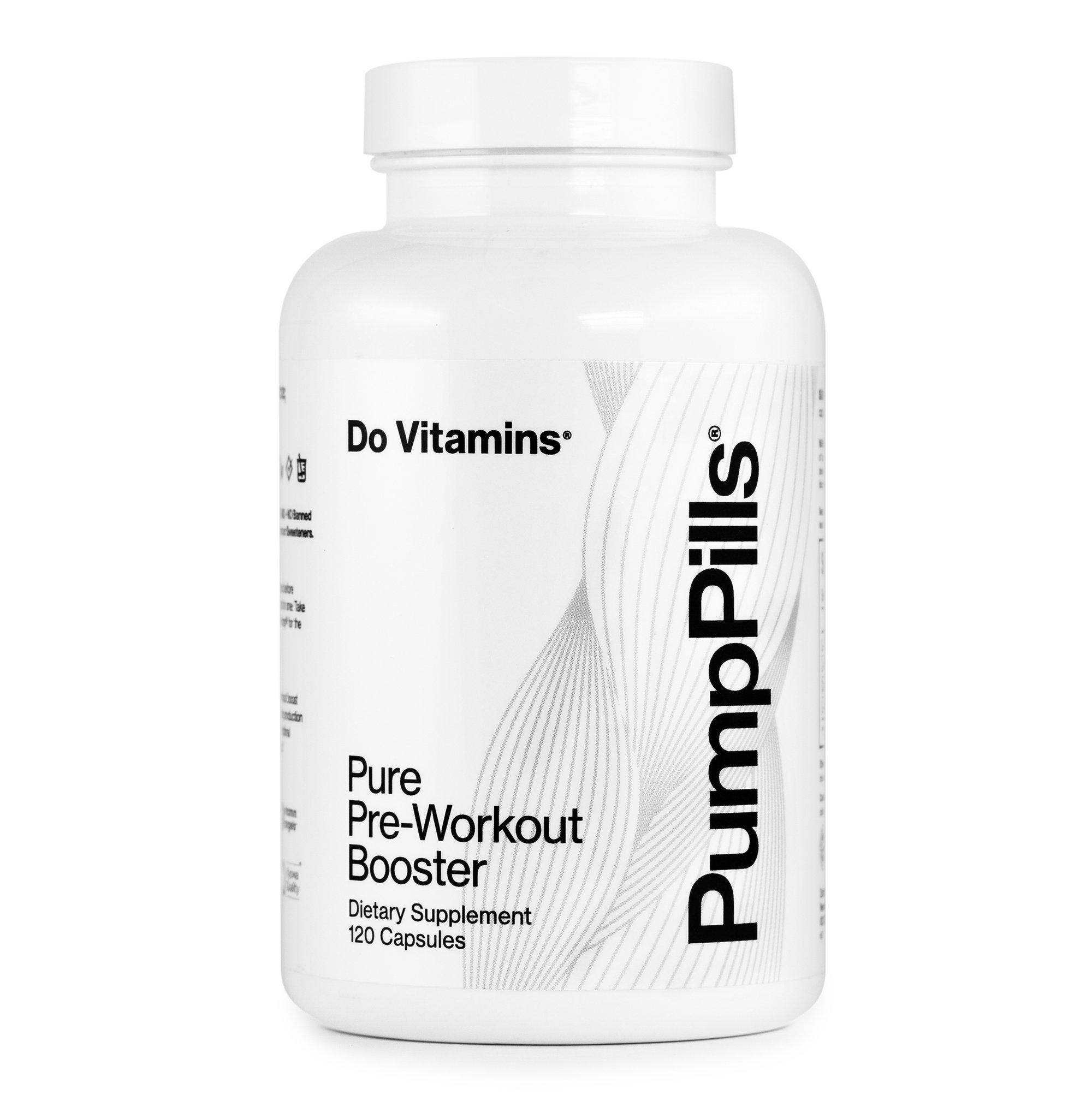 Pump Pills - Do Vitamins - Certified Paleo, Keto Certified, Paleo Friendly, PaleoVegan by the Paleo Foundation