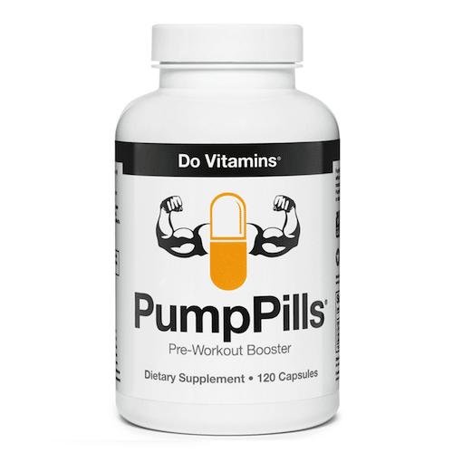 PumpPills - Do Vitamins - Paleo Friendly, PaleoVegan, KETO Certified - Paleo Foundation
