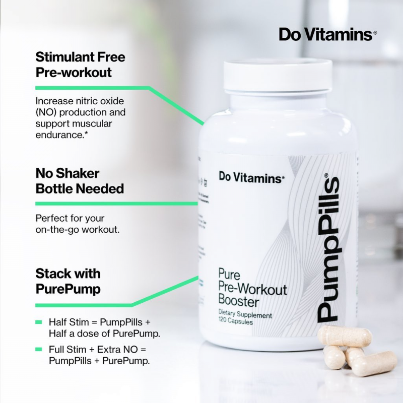 PumpPills Infographic - Do Vitamins - Certified Paleo, Keto Certified, Paleo Friendly, PaleoVegan by the Paleo Foundation