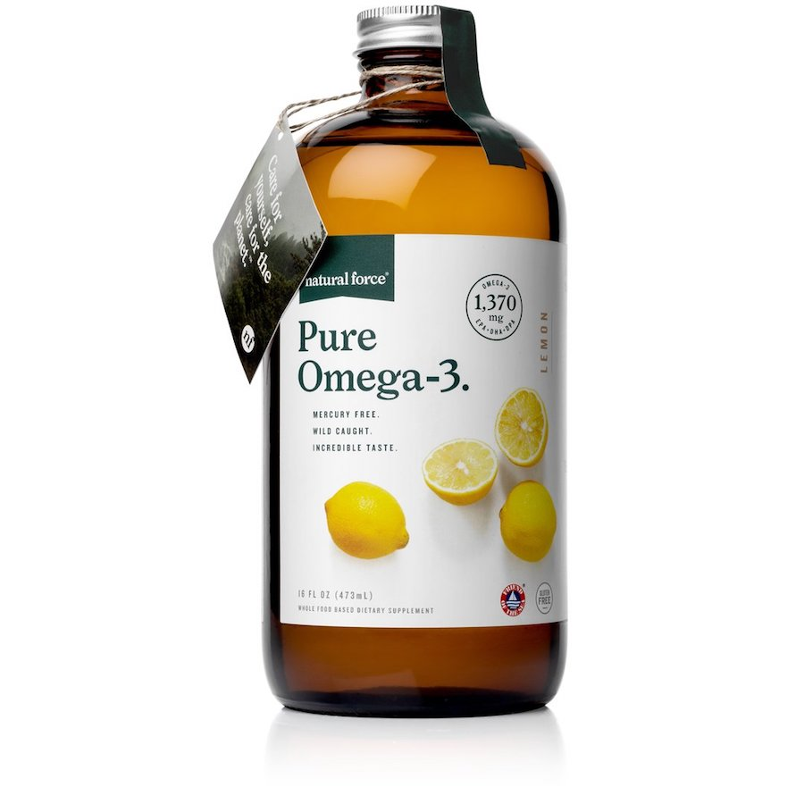 Pure Omega 3 - Natural Force - Certified Paleo Friendly, Keto Certified by the Paleo Foundation
