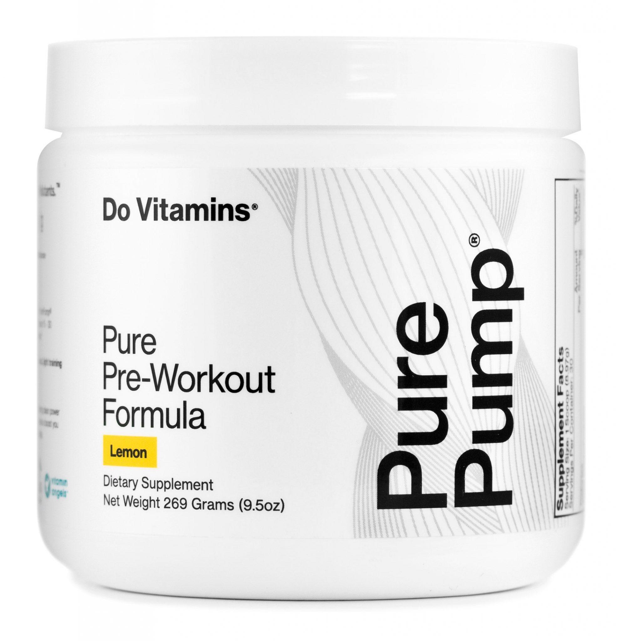 PurePump Lemon - Do Vitamins - Certified Paleo, Keto Certified, Paleo Friendly, PaleoVegan by the Paleo Foundation