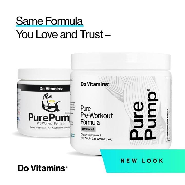 PurePump New Look - Do Vitamins - Certified Paleo, Keto Certified, Paleo Friendly, PaleoVegan by the Paleo Foundation