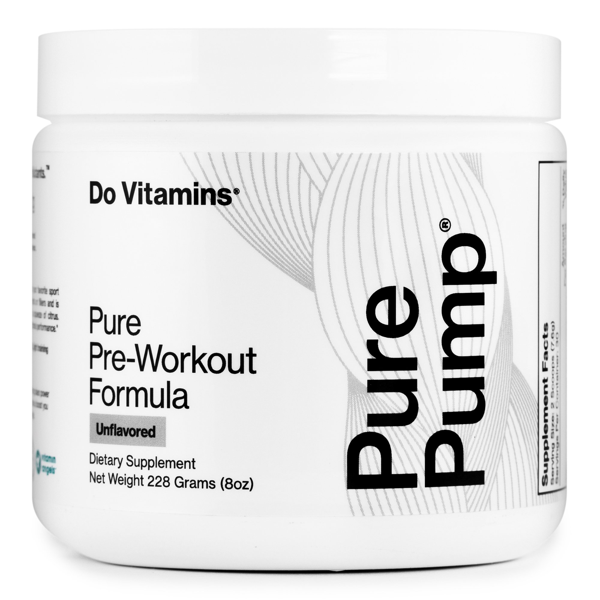PurePump Unflavored - Do Vitamins - Certified Paleo, Keto Certified, Paleo Friendly, PaleoVegan by the Paleo Foundation