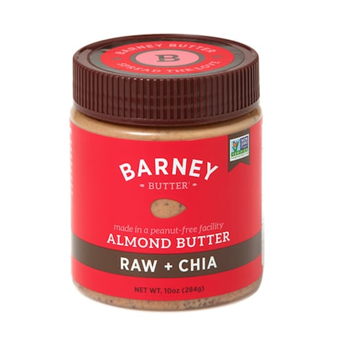 Raw + Chia Almond Butter - Barney Butter - Certified Paleo, Paleo Vegan - Paleo Foundation