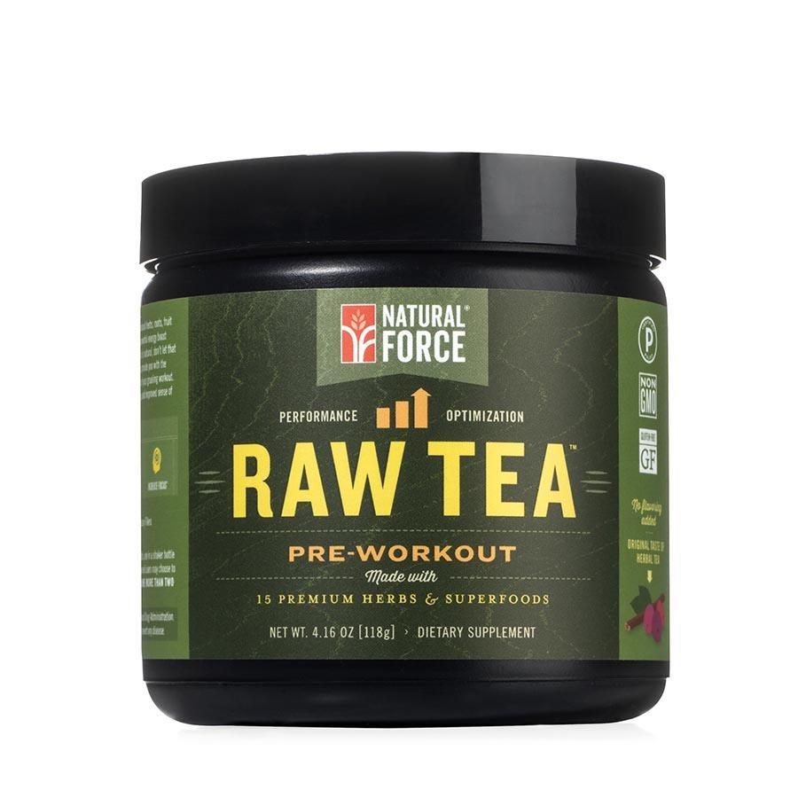 Raw Tea Natural Pre-Workout - Natural Force - Certified Paleo by the Paleo Foundation
