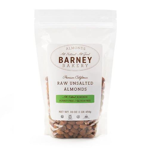 Raw Unsalted Almonds - Barney Butter - Certified Paleo, Paleo Vegan - Paleo Foundation