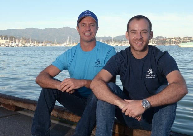Safe Catch co-founders Bryan Boches and Sean Wittenberg