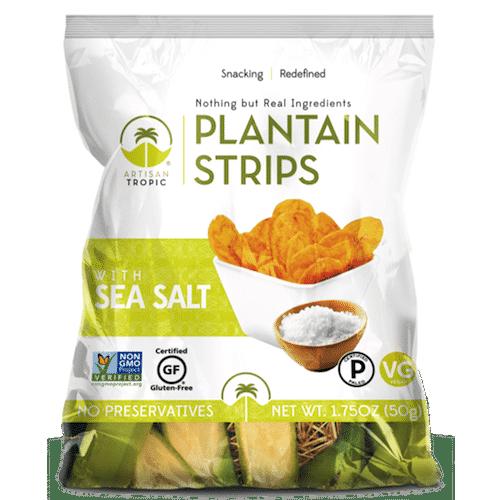 Sea Salt Plantain Strips 1.75oz - Artisan Tropic - Certified Paleo, Paleo Vegan - Paleo Foundation