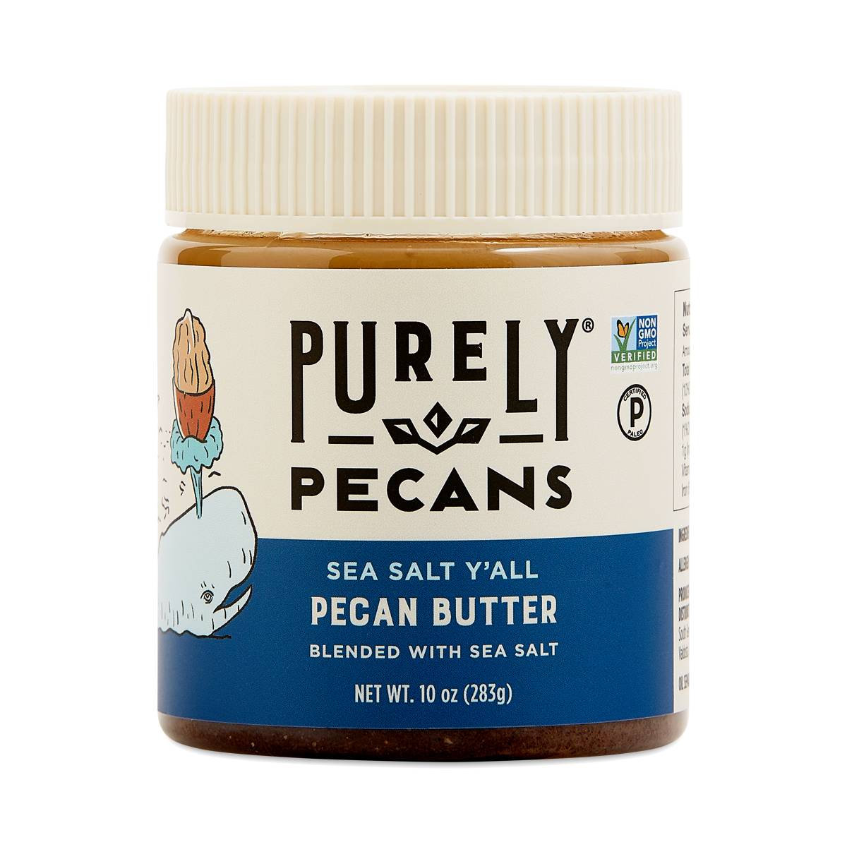 Sea Salt Y'all Pecan Butter - Purely Pecans - Certified Paleo, PaleoVegan by the Paleo Foundation