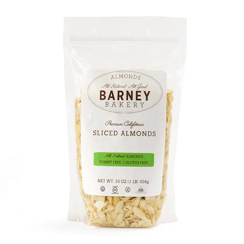 Sliced Almonds - Barney Butter - Certified Paleo, Paleo Vegan - Paleo Foundation