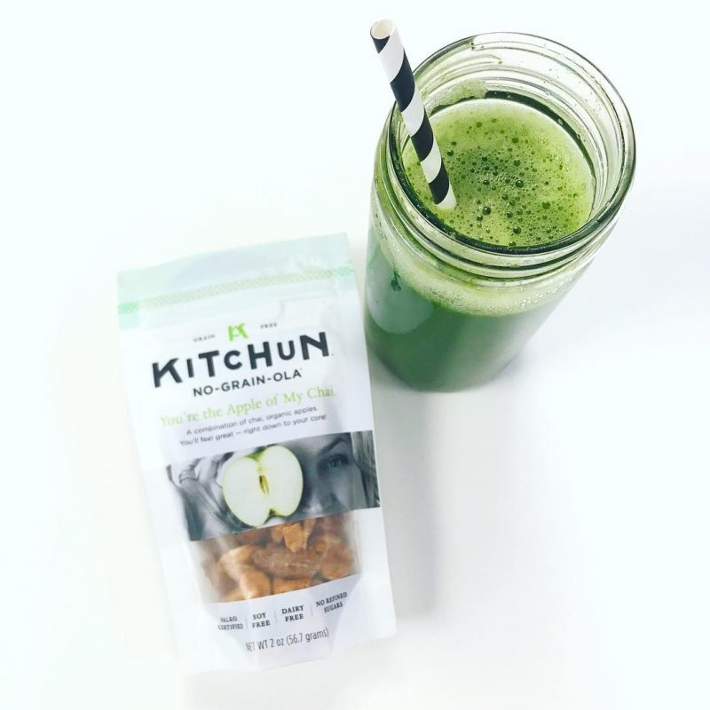 KITCHUN No-Grain-ola - Smoothie made with You're the Apple of My Chai 1 - Certified Paleo, PaleoVegan - Paleo Foundation