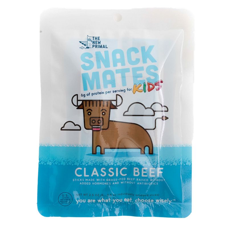 Snack Mates Beef - The New Primal - Certified Paleo by the Paleo Foundation