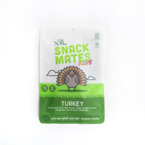 Snack Mates Turkey - The New Primal - Certified Paleo, KETO Certified - Paleo Foundation
