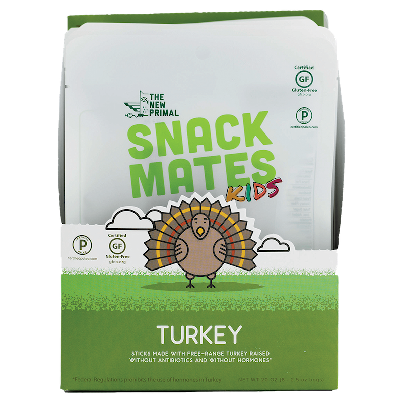 Snack Mates Turkey - The New Primal - Certified Paleo by the Paleo Foundation