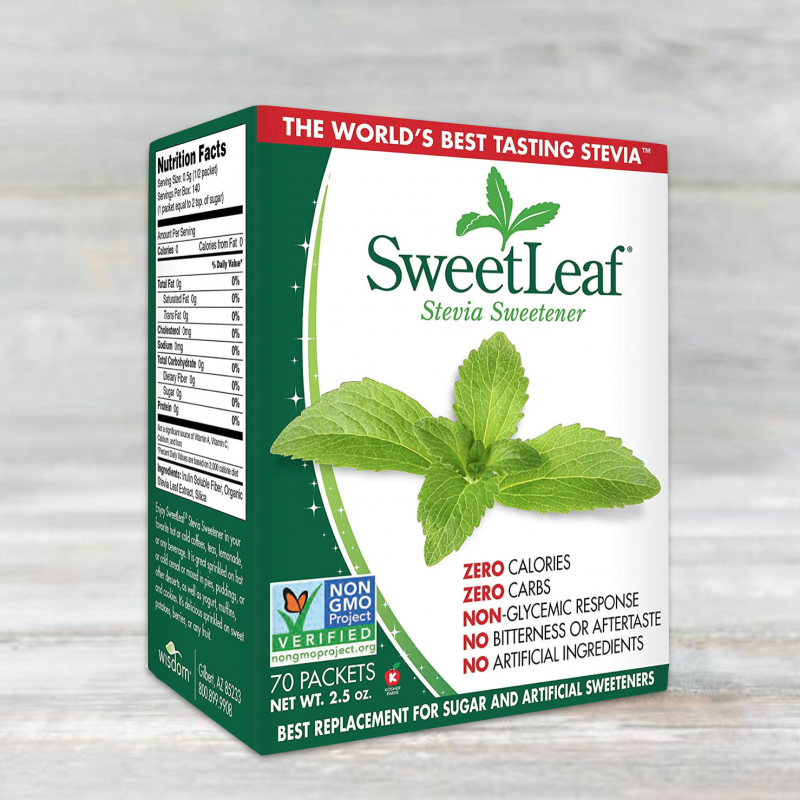 Stevia Sweetener - SweetLeaf - Certified Paleo, PaleoVegan by the Paleo Foundation