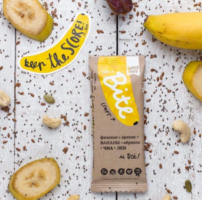 Take a bite banana cashew Certified Paleo