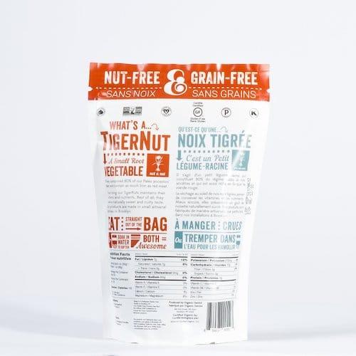 Tiger Nut Raw Snack Peeled back - Organic Gemini - Certified Paleo, PaleoVegan - Paleo Foundation