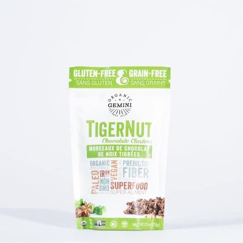 TigerNut Clusters - Chocolate - Organic Gemini - Certified Paleo, PaleoVegan - Paleo Foundation