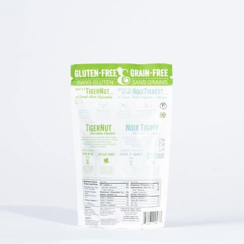 TigerNut Clusters - Chocolate back - Organic Gemini - Certified Paleo, PaleoVegan - Paleo Foundation