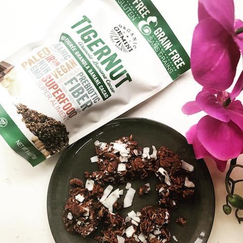 TigerNut Granola- Banana Cacao - Organic Gemini - Certified Paleo, PaleoVegan - Paleo Foundation