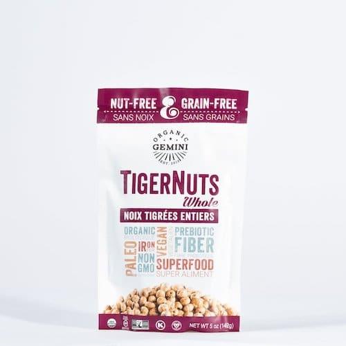TigerNut Raw Snacks - Organic Gemini - Certified Paleo, PaleoVegan - Paleo Foundation
