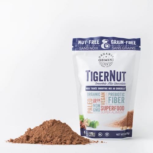 TigerNut Smoothie Mix - Chocolate - Organic Gemini - Certified Paleo, PaleoVegan - Paleo Foundation