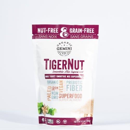 TigerNut Smoothie Mix - Super Boost - Organic Gemini - Certified Paleo, PaleoVegan - Paleo Foundation