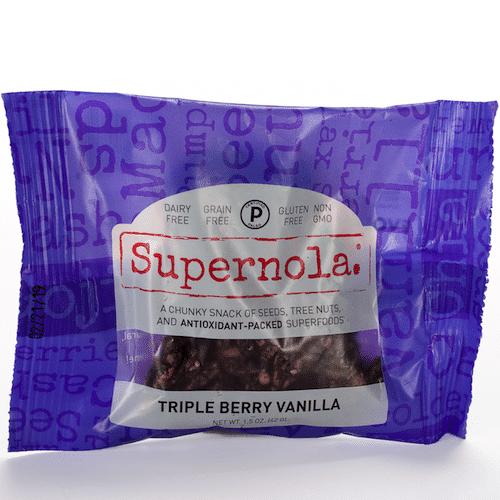 Triple Berry Vanilla - Evolve - Supernola - Certified Paleo - Paleo Foundation