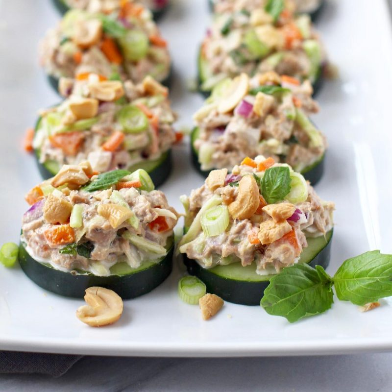 Tuna sushi - Safe Catch - Certified Paleo, Keto Certified - Paleo Foundation