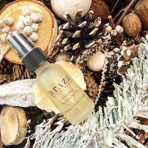 Vitamin Boost Hydrating Face Mist - Araza Beauty - Certified Paleo, PaleoVegan - Paleo Foundation