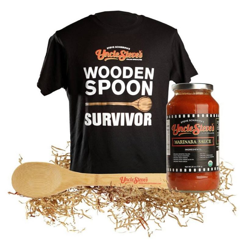 Wooden Spoon Survivor Uncle Steve's Certified Paleo Pasta Sauces