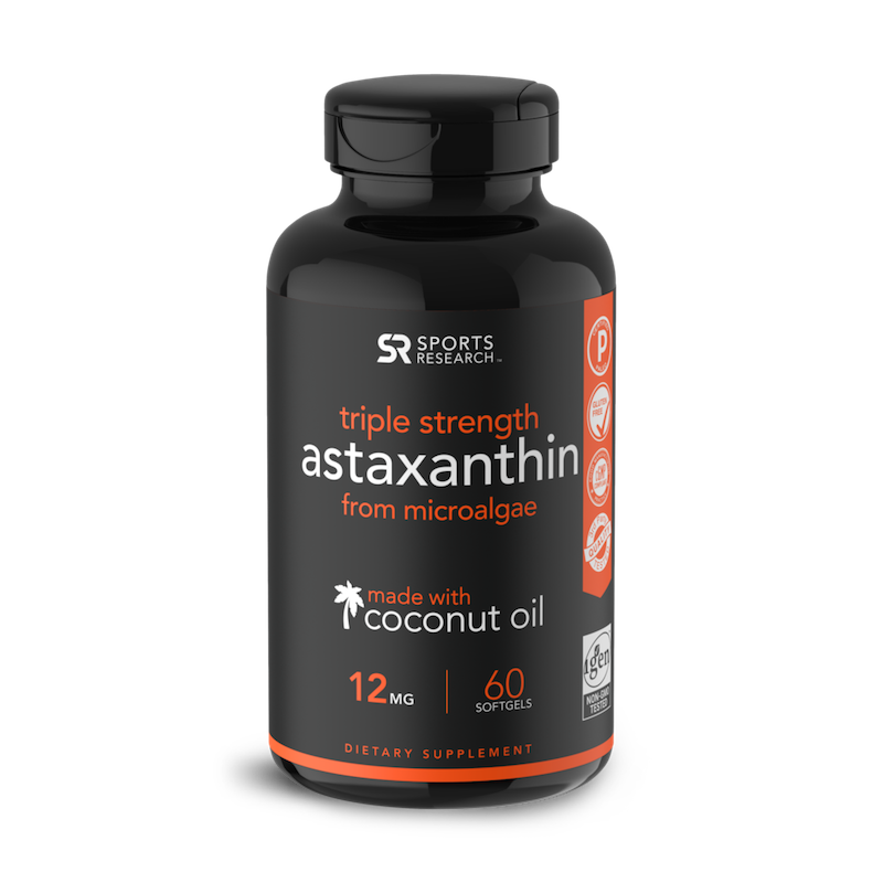 Astaxanthin - Sports Research - Certified Paleo by the Paleo Foundation